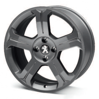 "Alloy wheel Peugeot LINCANCABUR DARK 18"" - 308"