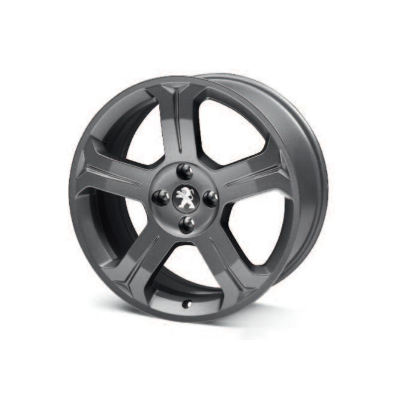 """Cerchio in lega Peugeot LINCANCABUR DARK 18"""" - 308"""