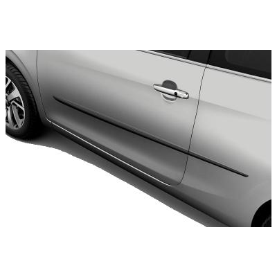 Satz seitenschutzleisten..vorderen und hintere türen Peugeot