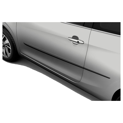 Set of lateral protection strips Peugeot - 108 3 Door, 208 3 Door