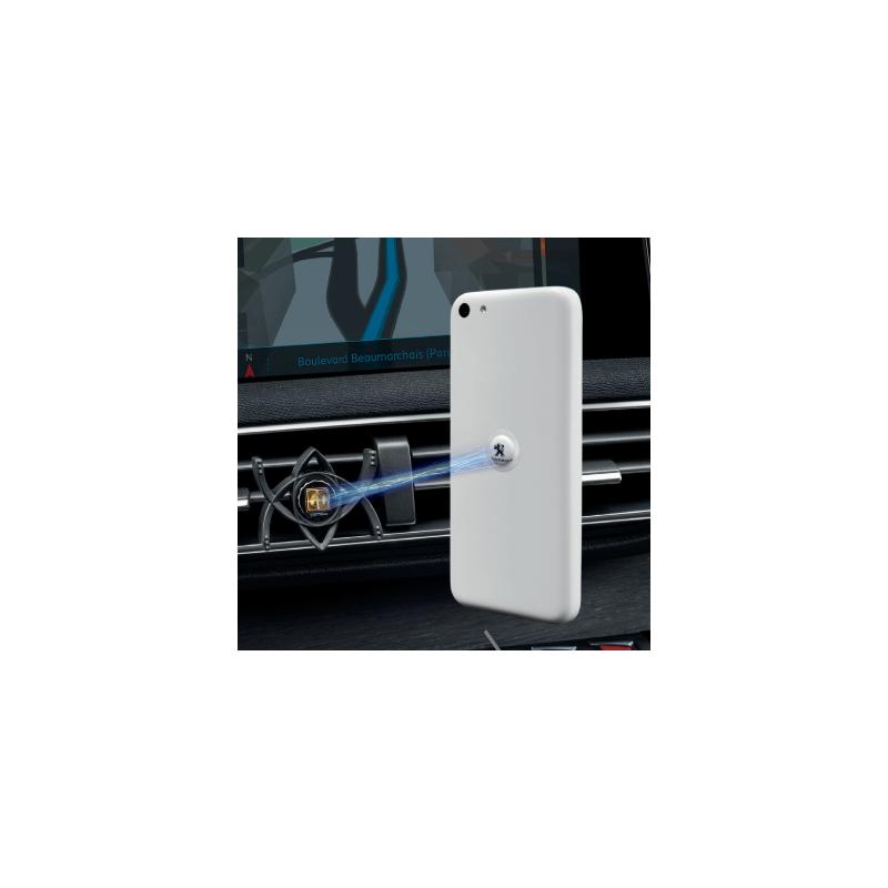 "Clip soporte universal con logo Peugeot ""TETRAX"""