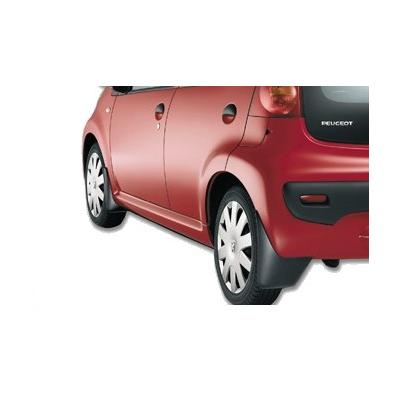 Satz schmutzfänger für vorne Peugeot 107