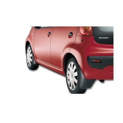Set of front mudflaps Peugeot 107