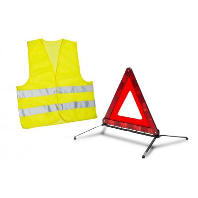Sada výstražného trojuholníka a bezpečnostné vesty