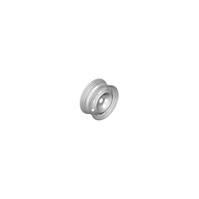 "Plechové kolo 15"" Peugeot - 207, 208, 301"