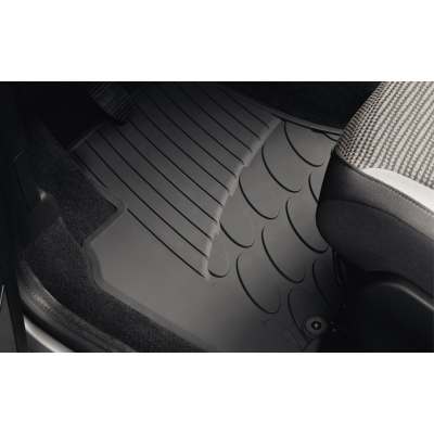 Serie di tappetini in gomma anteriori Peugeot Partner (Tepee) B9, Citroën Berlingo (Multispace) B9