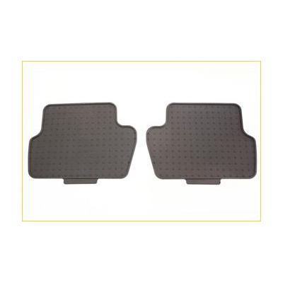 Set of rubber floor mats rear Peugeot Partner Tepee B9, Citroën Berlingo Multispace B9