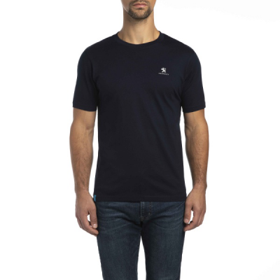 Herren T-shirt Peugeot Dunkelblau
