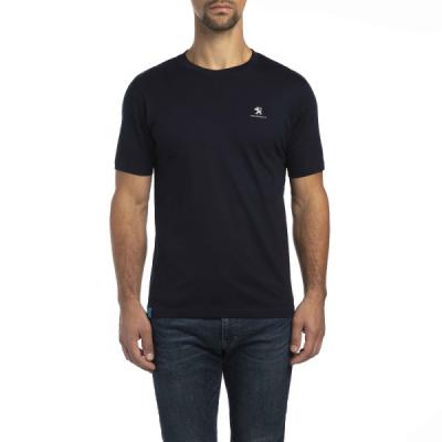 T-shirt da uomo Peugeot blu scuro