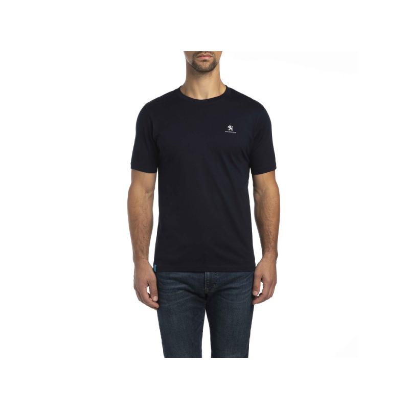 Camiseta de hombre Peugeot azul oscuro
