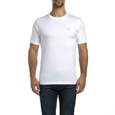 T-shirt da uomo Peugeot blanco