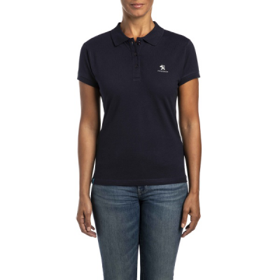 Women's Polo T-Shirt Peugeot dark blue