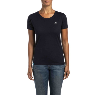 Camiseta de mujer Peugeot azul oscuro