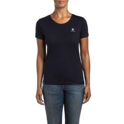 T-shirt da donna Peugeot blu scuro