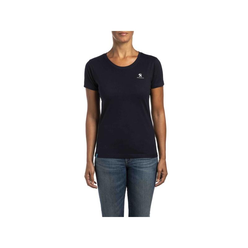 Women's T-Shirt Peugeot dark blue