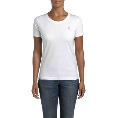Camiseta de mujer Peugeot blanca