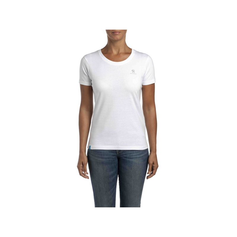 Dámske tričko Peugeot biele