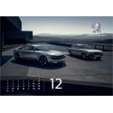 Oficiální nástěnný kalendář Peugeot 2018