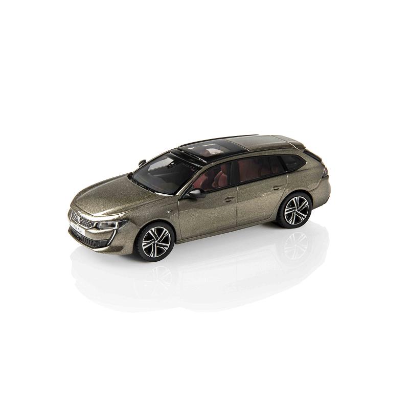 Model Peugeot 508 SW (R8) Grey Amazonite 1:43