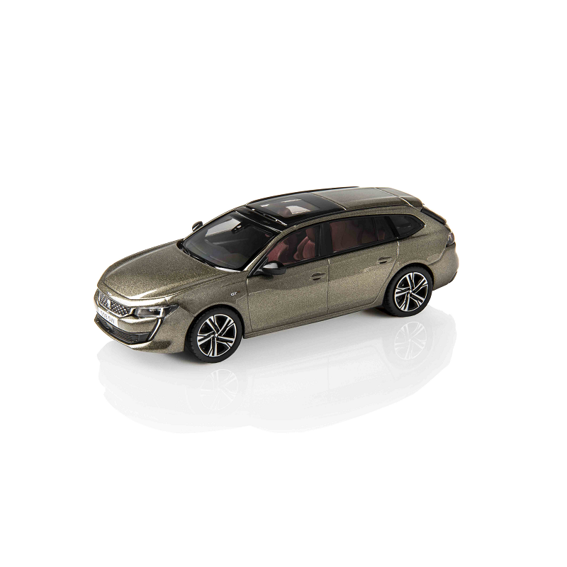 Modellino Peugeot 508 SW (R8) grigio Amazonite 1:43