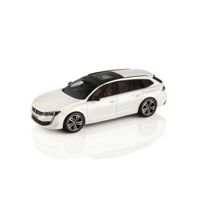 Miniatur Peugeot 508 SW (R8) weiß Nacré 1:43