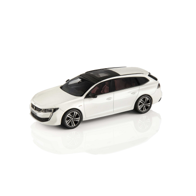 Model Peugeot 508 SW (R8) White Nacré 1:43
