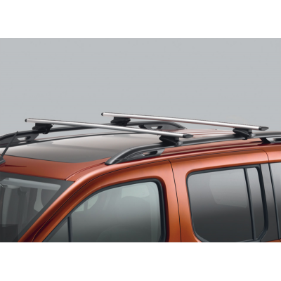 Set of 2 transverse roof bars Peugeot Rifter
