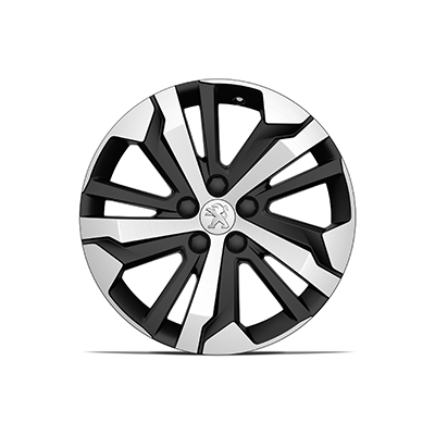 "Set of 4 alloy wheels AORAKI 17"" Peugeot Rifter"