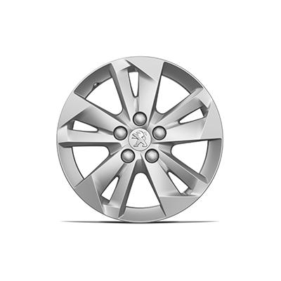 "Set of 4 alloy wheels TARANAKI 16"" Peugeot Rifter"