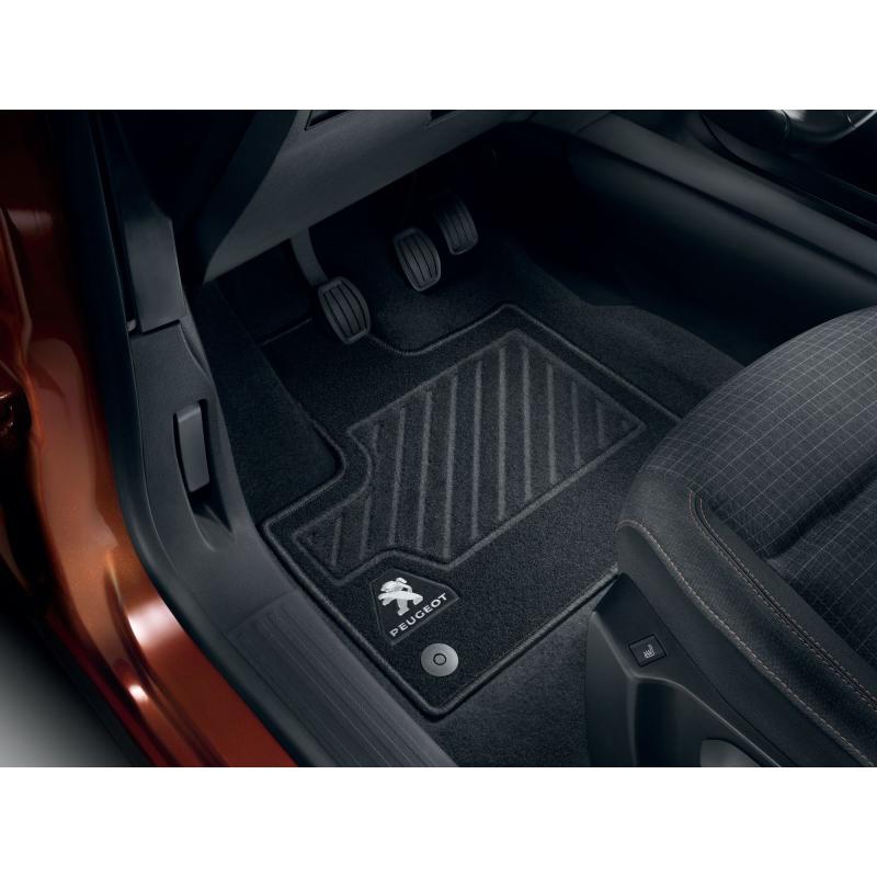 Set of front needle-pile floor mats Peugeot Rifter, Partner (K9)