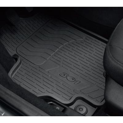 Serie di tappetini in gomma Peugeot 301