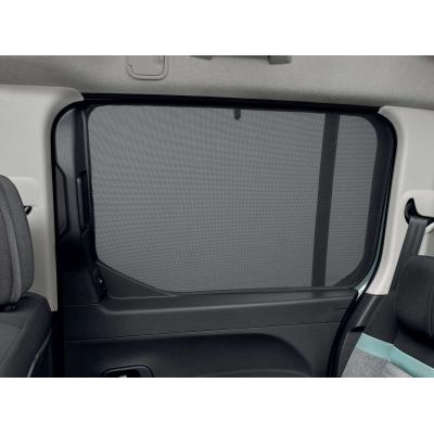 Slnečné clony bočných okien Peugeot Rifter, Citroën Berlingo (K9), sťahovacie okná