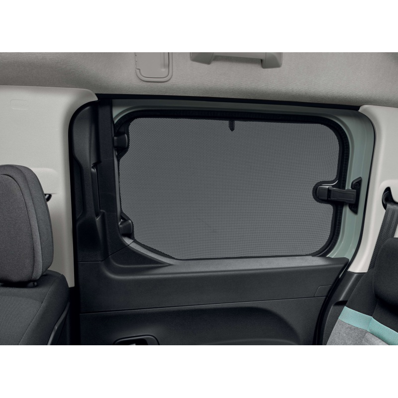 Satz von 2 sonnenblenden Peugeot Rifter, Citroën Berlingo (K9), Ausstellfenster