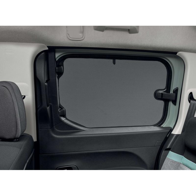 Slnečné clony bočných okien Peugeot Rifter, Citroën Berlingo (K9), výklopné okná