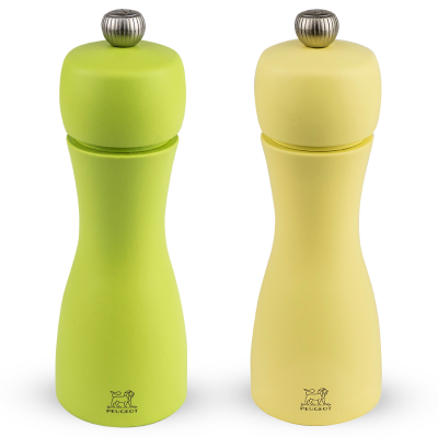 Peugeot TAHITI Geschenkset Pfeffer und Salzmühle, Grün 15 cm