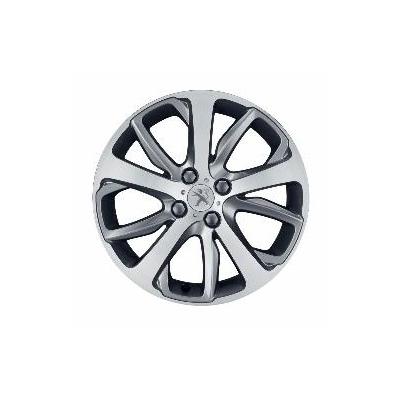 """Llanta de aleación Peugeot OXYGENE Gris 17"""" - 208"""