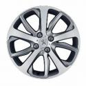 "Satz mit 4 Leichtmetallfelgen Peugeot OXYGENE 17"" - 208"