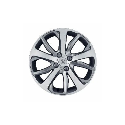 "Set of 4 alloy wheels Peugeot OXYGENE 17"" - 208"