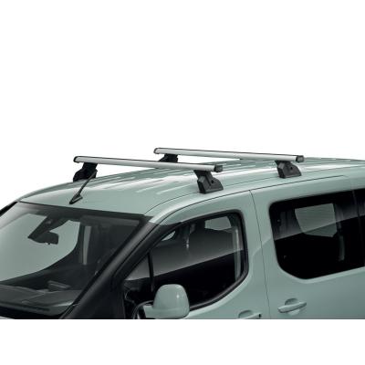 Juego de 2 barras de techo transversales Peugeot Partner (K9), Citroën Berlingo (K9)