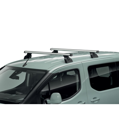 Serie di 2 barre del tetto trasversali Peugeot Rifter, Partner (K9), Citroën Berlingo (K9)