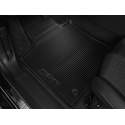 Set of rubber floor mats Peugeot 508 (R8)