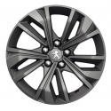 """Set of 4 alloy wheels Peugeot MERION 17"""" - 508 (R8)"""