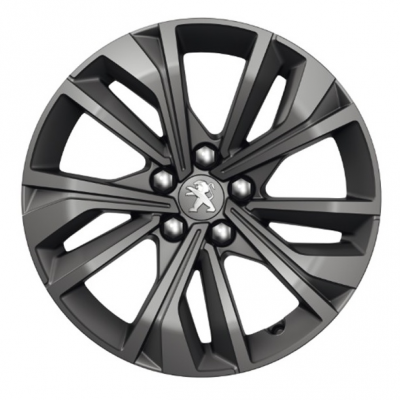 "Set of 4 alloy wheels Peugeot MERION 17"" - 508 (R8)"
