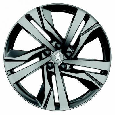 """Satz mit 4 Leichtmetallfelgen Peugeot AUGUSTA 19"""" - 508 (R8)"""