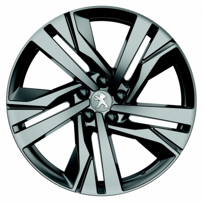 "Set of 4 alloy wheels Peugeot AUGUSTA 19"" - 508 (R8)"