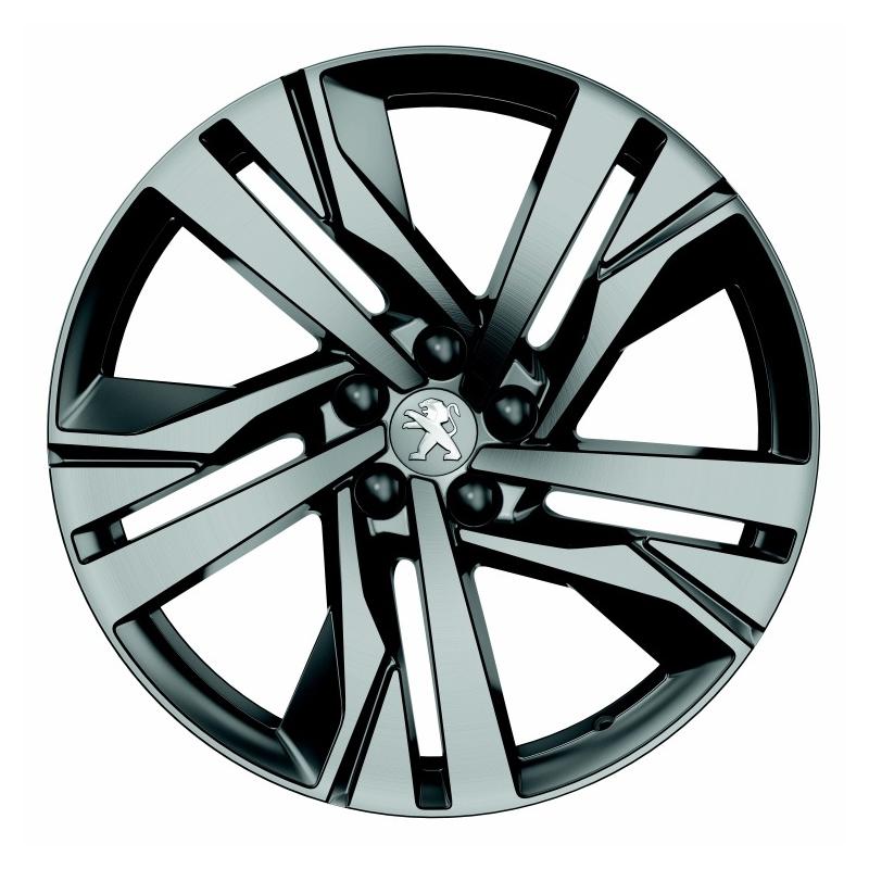 "Set of 4 alloy wheels Peugeot AUGUSTA 19"" - 508 (R8)"