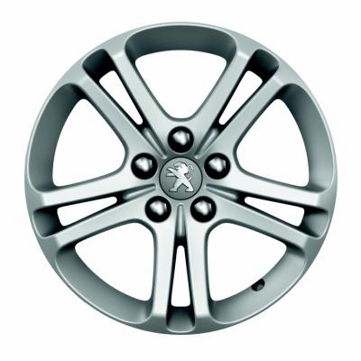 "Serie di 4 cerchi in lega Peugeot BANDON 16"" - 508 (R8)"