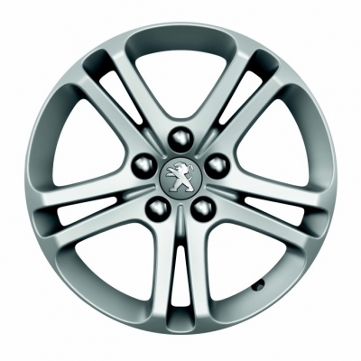 "Set of 4 alloy wheels Peugeot BANDON 16"" - 508 (R8)"