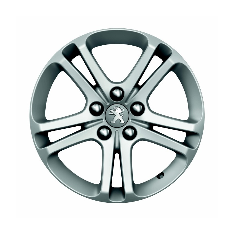 "Satz mit 4 Leichtmetallfelgen Peugeot BANDON 16"" - 508 (R8)"