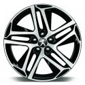 """Alloy wheel Peugeot SAPHIR NOIR 18"""" - New 308 (T9)"""